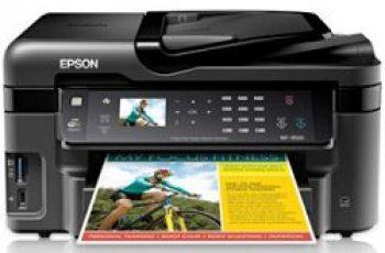 Epson WF-3520 Printer