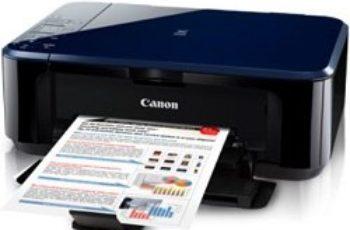 Canon PIXMA E500 Printer
