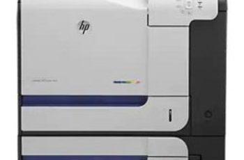 HP LaserJet 500 color M551dn Printer