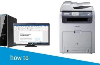 Samsung Printer Printing Black Pages