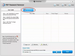 Tenorshare PDF Password Remover